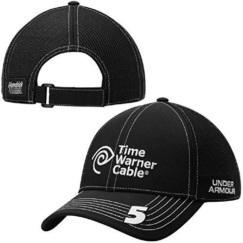 Under Armour NASCAR-Hendrick Motorsports-Adjustable Driver Sponsor Adult Trucker Hat Cap-Kasey Kahne #5 Time Warner - Kasey Kahne Cap