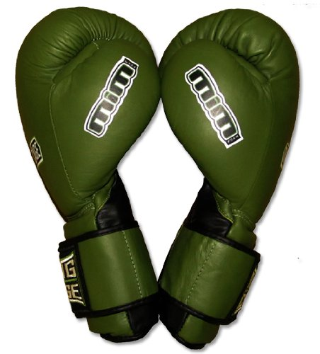 Deluxe MiM-Foam Sparring Gloves - Safety Strap for Muay Thai, MMA, Kickboxing, Boxing-14oz