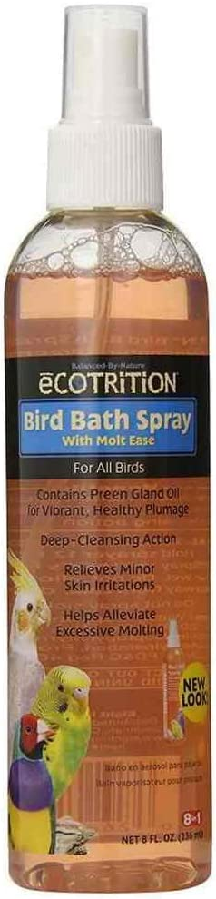 eCOTRITION Bird Bath Pump Spray - 8 oz.