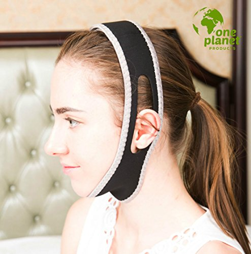 Anti-Snore-Chin-Strap-by-One-Planet-with-Anti-Snore-Nose-Clip-Adjustable-Triangle-Shape-Stop-Heavy-Breathing-Features-a-Chin-Head-Supporting-Strap-Sleep-Better-Now