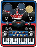 Vivo 2 in 1 Piano and Drums Music Jam Playmat Learn Keyboard Drum Kit Electronic Fun