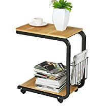 Soges Laptop Computer Stand Desk Cart