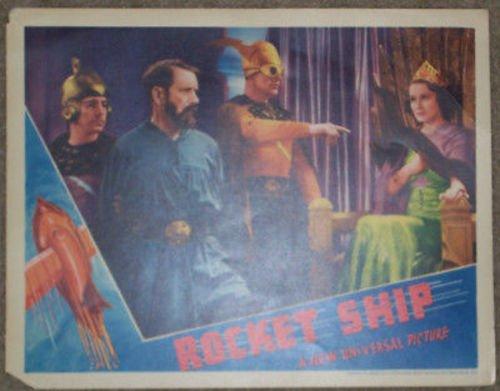 (Flash Gordon Rocket Ship 1938 lobby card Trip to Mars)