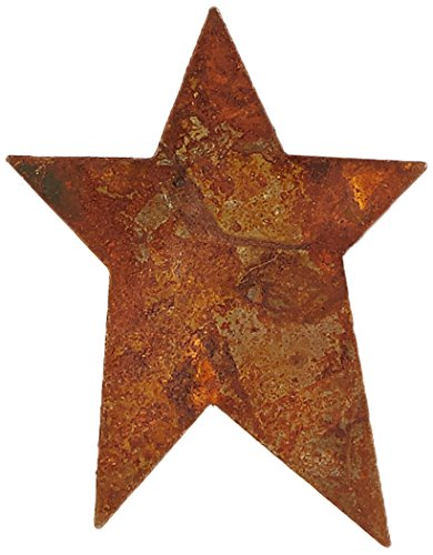 DCC 3-Pack Rusty Tin-Tiques Tin Cut-Outs, Star, 1-3/4-Inch
