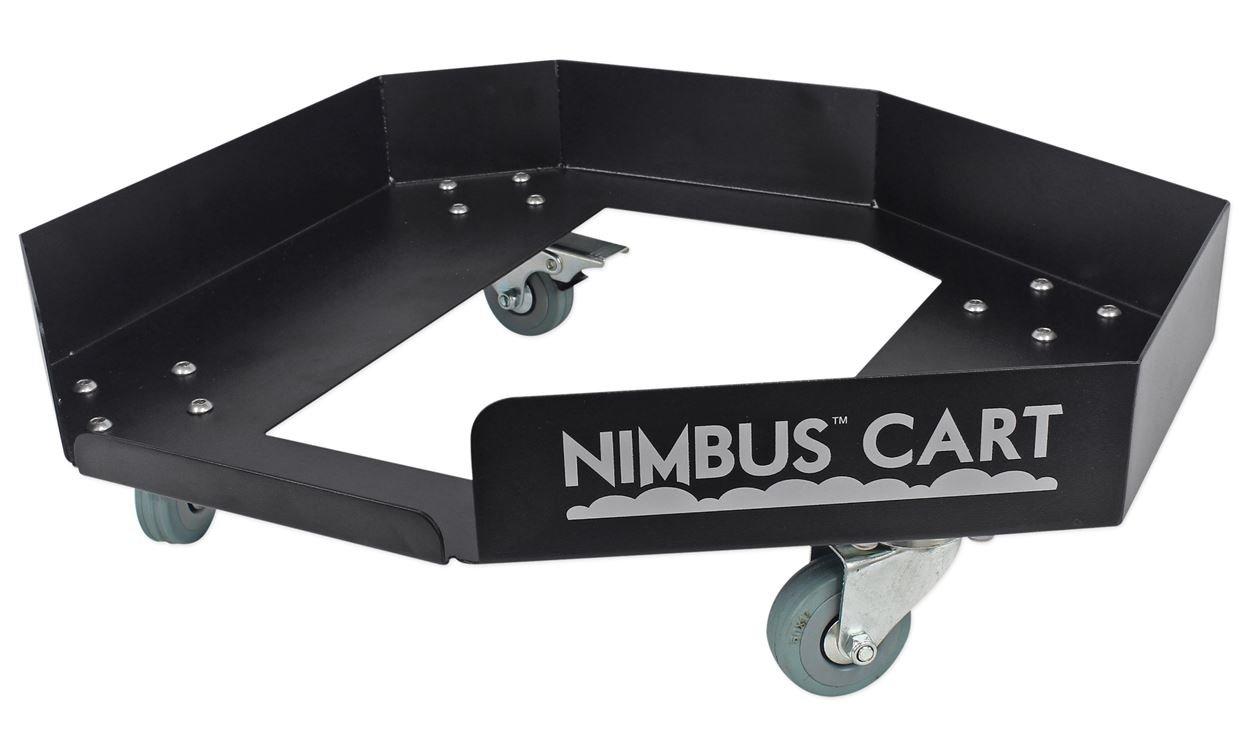 Chauvet DJ Nimbus Plug/Play Dry Ice Fog Machine+Nimbus Cart+2 Free Strobe Lights