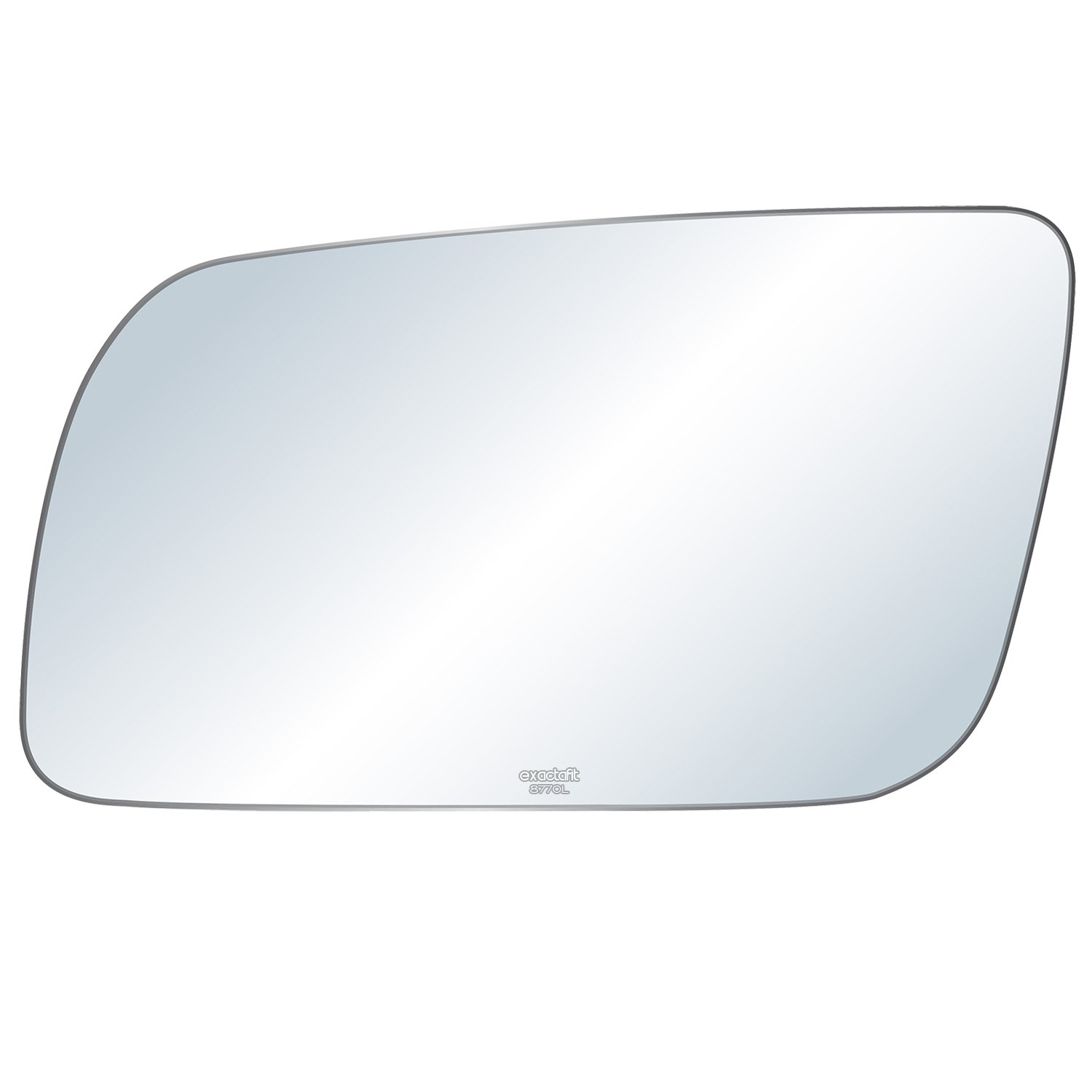 exactafit 8770L Replacement Lens Side Power Mirror Flat Glass fits Driver Left Hand LH for Chevy GMC C//K 1500 2500 3500 Blazer Yukon Jimmy Suburban by Rugged TUFF