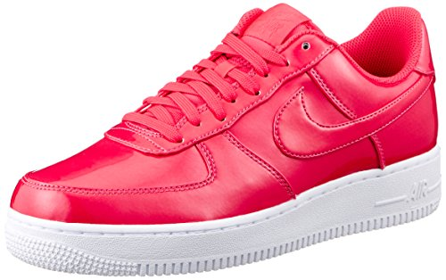 Nike, Uomo, Air Force 1 07 LV8 UV, Pelle, Sneakers, Rosso, 46 EU