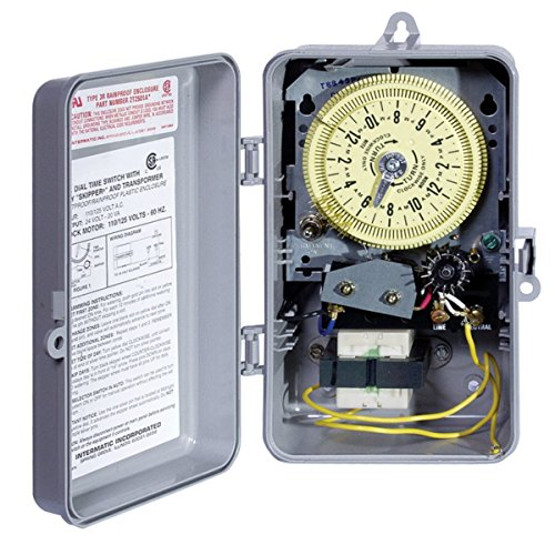Intermatic Sprinkler Irrigation Timer T8845PV with 14-Day Skipper and Auto Shut-Off Programmable 60 Cycles enclosed in NEMA 3R Indoor/Outdoor Durable Casing