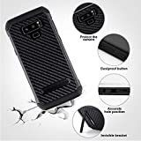 YCFlying Galaxy Note 9 Case Shockproof Dual Layer Protective Defender Anti-Shock and Anti-Slip Protective Case with Hard PC Soft TPU for Samsung Galaxy Note 9 Black (Note9 4)