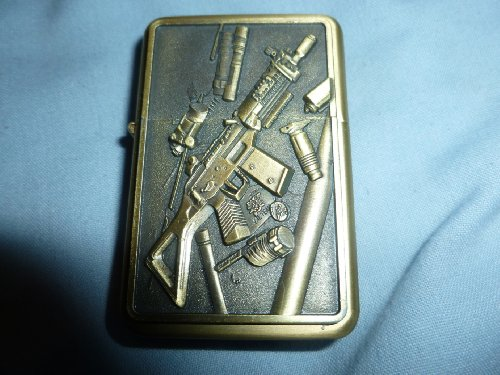 NEW waterproof solid lighter with 3D design