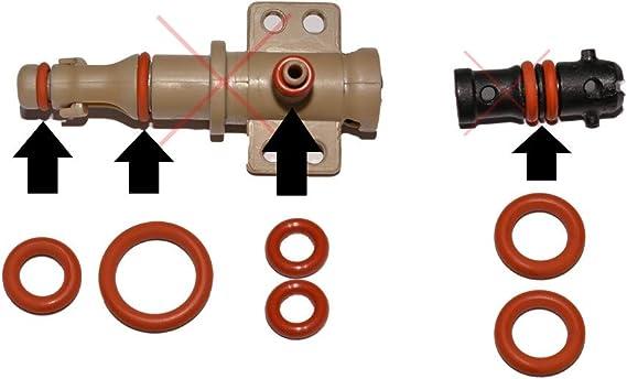 SW-K - Juego de mantenimiento de juntas para válvulas de soporte y válvulas de salida, adecuadas para cafetera Saeco Philips, Spidem, Gaggia, Set-14: Amazon.es: Hogar