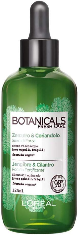 L'Oreal Paris Botanicals Sérum Fortificante, Fuente de fuerza para cabellos frágiles - 125 ml