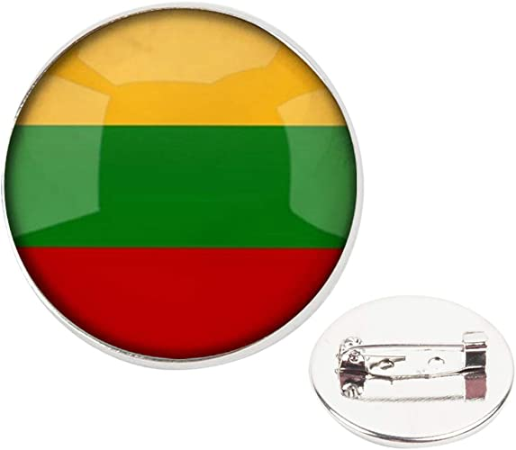 Silver Toned Etched Central African Republic Flag Cufflinks