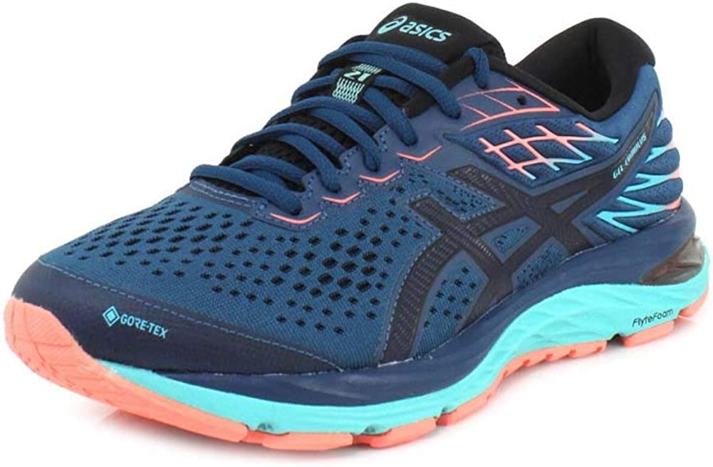 Asics Mens Gel-Cumulus 22 GORE-TEX Running Shoes Trainers Sneakers Green Sports