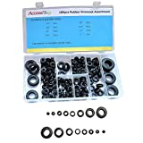 Accessbuy 180-Piece Rubber Grommet Shop Assortment