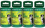 Evercare Extra Sticky Pet Lint Roller Refill 60 sheets - Pack of 4