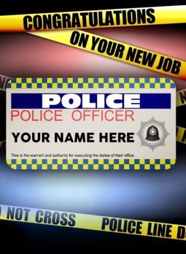 Im A Police Sergeant Keep Calm Square Greeting Card