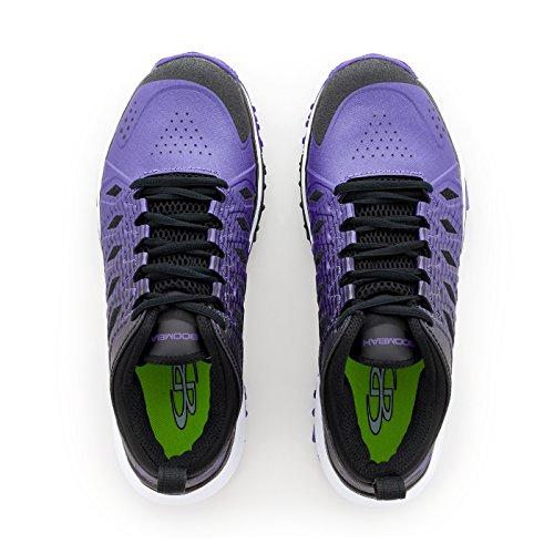 Boombah Womens Squadron Turf Shoes - 14 Kleurenopties - Meerdere Maten Zwart / Paars