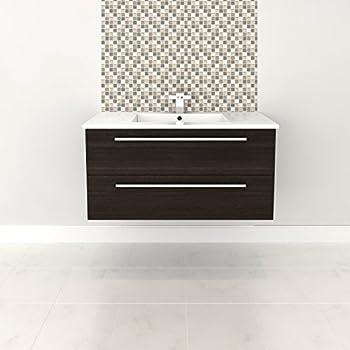 Merveilleux Cutler Kitchen U0026 Bath Silhouette 36 In. Wall Hung Bathroom Vanity
