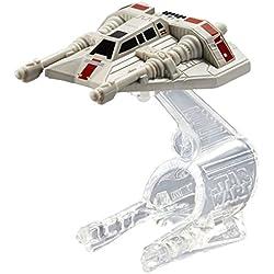 Hot Wheels Star Wars Starship Snowspeeder Orange Vehicle