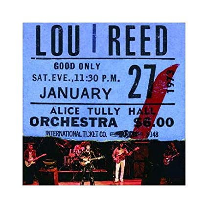 Buy Lou Reed – Live at Alice Tully Hall New or Used via Amazon