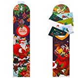 URATOT 2 Pack Christmas Card Holder with Self-Adhesive Hook Xmas Card Wall Holders and Decoration