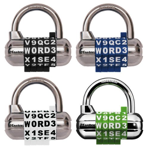 Master Lock 1534D Password Combination