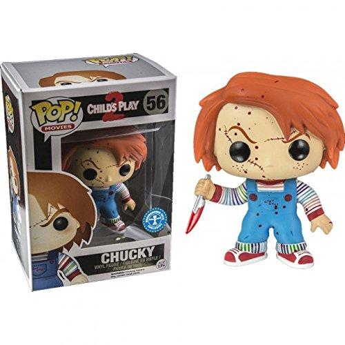 Funko Movies: Childs Play 2 Chucky Pop Vinyl Exclusive Blood Splatter Variant