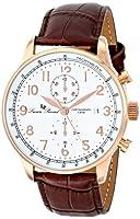 Lucien Piccard Men's LP-10503-RG-02-BR Montilla Analog Display Japanese Quartz Brown Watch from Lucien Piccard