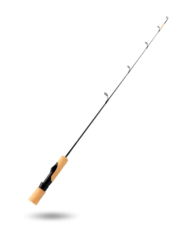 Pasanhoo アイスフィッシング スピニングロッド グラファイトブランク サイズ:28インチ/71cm ミディアムパワー   B07JLB4535