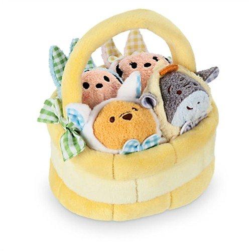 Disney ''Tsum Tsum'' Plush Mini Easter Basket Set ()