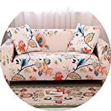 Modern Elastic Stretch Sofa Covers for Living Room Sofa Couch Slipcovers 1/2/3/4 Seater Sectional Sofa Covers housse de canap,Color 11,3-Seater 190-230cm,China