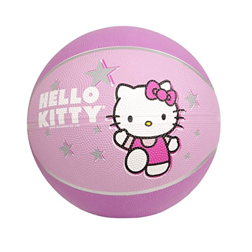 Hello Kitty Sports Mini Basketball, 7-Inch, Pink
