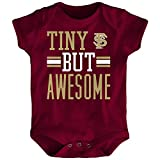 Outerstuff NCAA Florida State Seminoles Newborn & Infant Tiny But Awesome Bodysuit, Garnet, 3-6 Months