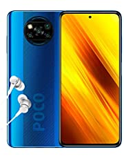 "Poco X3 NFC - Smartphone 6+128GB, 6,67"" FHD+ Punch-Hole Display, Snapdragon 732G, 64MP AI Penta-Camera, 5160mAh, Cobalt Blue (Official UK Version)"