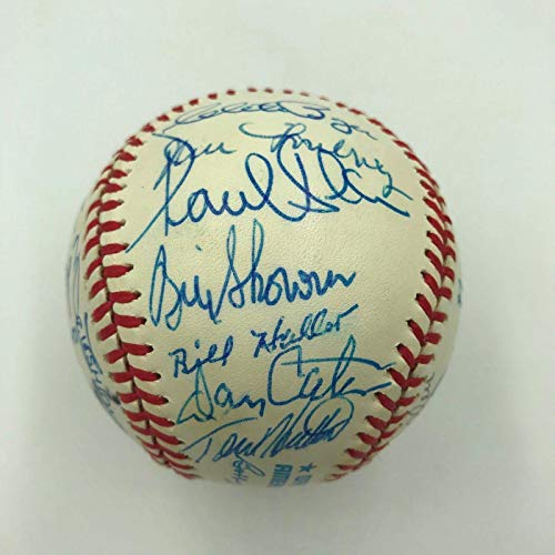 1991 Boston Red Sox Legends Old Timers Day Multi Signed Baseball 25 Sigs - Autographed ()