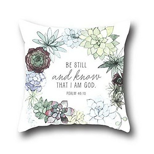 Robert Beautifulcushion Throw Pillowcase Pillow Cover Christian Bible Verse Throw Pillow Cases Arrow 20*30