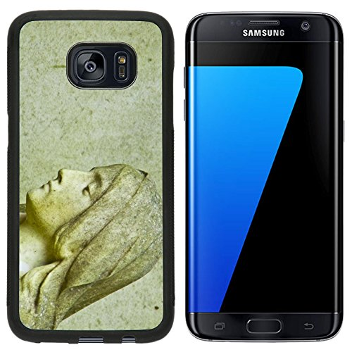 Liili Samsung Galaxy S7 Edge Aluminum Backplate Bumper Snap Case old tombstone on the Melaten cemetery in Cologne C Photo 10447117