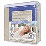 Protect-A-Bed Luxury Waterproof Mattress Protector, King