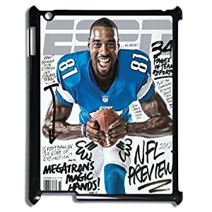 3D Yearinspace Calvin Johnson IPad 2,3,4 2D Cases ESPN MagazineCalvin Johnson For Women Protective, Ipad Cases For Girls, {Black} by icecream design