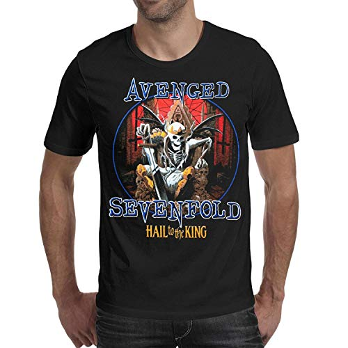 Man Black tee Shirts Avengeds-Sevenfolds-Hall-to-The-King- for sale  Delivered anywhere in USA