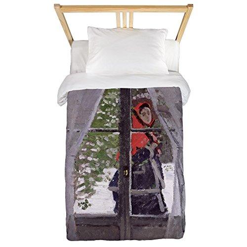 CafePress - Et, 1873 @Oil On Canvasa - Twin Duvet - Twin Duvet Cover, Printed Comforter Cover, Unique Bedding, Microfiber