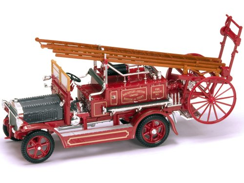 (Yat Ming Scale 1:43 - 1921 Dennis N Type Fire Engine)
