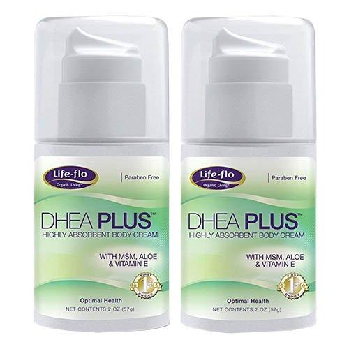 Life-Flo Dhea Plus Cream, 2 Fluid Ounce (Pack of 2) by LIFE-FLO (Image #1)