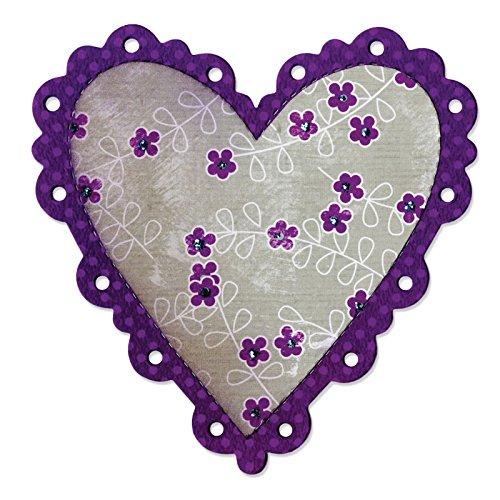 Ellison Scallop Heart Sure Cut Die, Large (Heart Scallop)