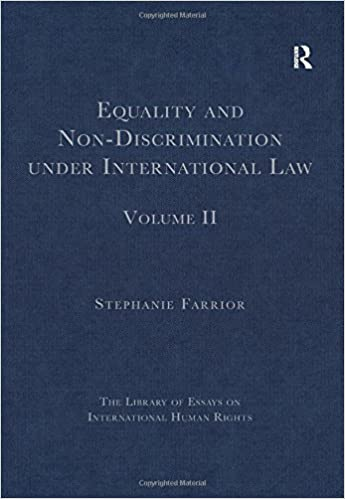 Thesis In Essay Equality And Nondiscrimination Under International Law Volume Ii The  Library Of Essays On International Human Rights St Edition Last Year Of High School Essay also Business Ethics Essay Topics Equality And Nondiscrimination Under International Law Volume Ii  Essay On Religion And Science