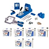 Kreg K4MS Jig Master System, Face Clamp with 2500 Pocket Screws