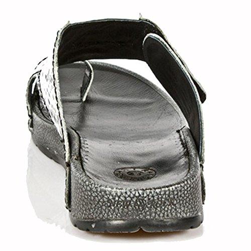 New Rock BIO Blanc-cassé Sandal M.BIO10-R3