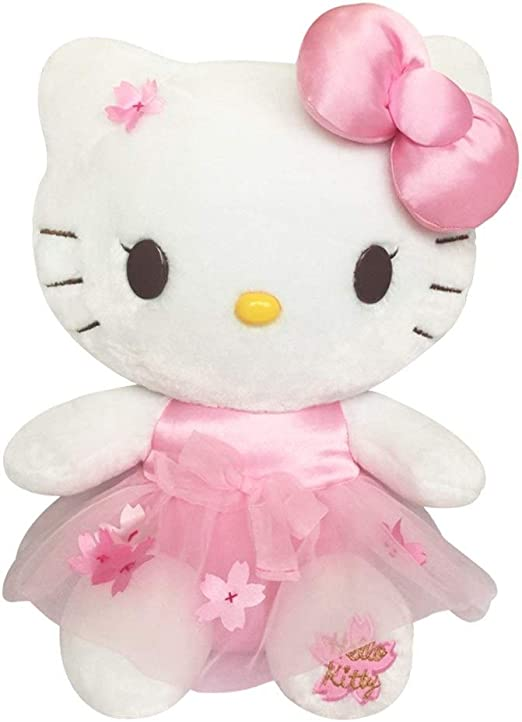 Giant Shark Plush, Amazon Com Zhangmeiren Hello Kitty Cute Plush Toy Cushion Pillow Creative Gift Home Kitchen