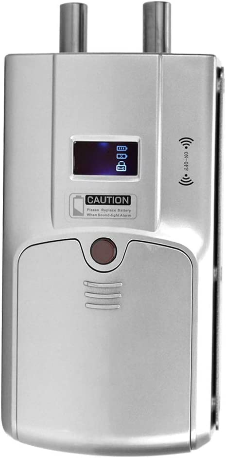 WAFU Concealed Electronic Door Lock Wireless Remote Control Home Security Lock BTIHCEUOT Electronic Door Lock,Wireless Door Lock Electronic Smart Door Lock